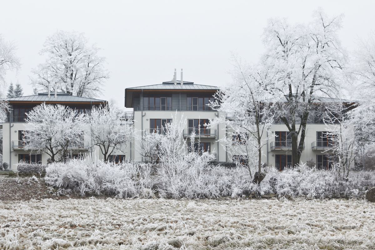 Aussenansicht Winter