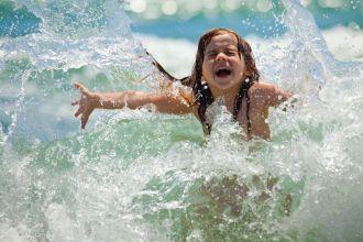 Kind im Wasser